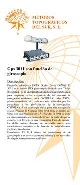 Girocompas GPS 3011