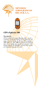 GPS Explorist 100