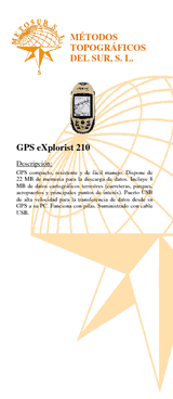 GPS Explorist  210