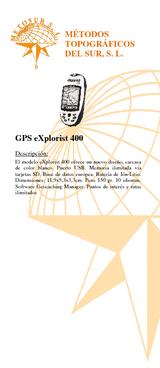 GPS Explorist 400