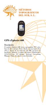 GPS Explorist 600