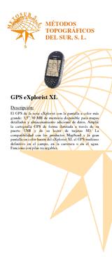 GPS Explorist XL