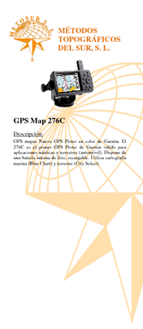 GPS Map 276C