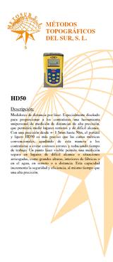 Medidor de distancia por láser HD50
