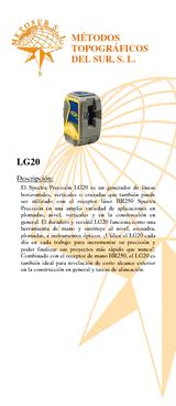 Nivel autonivelante LG20 línea vertical-horizontal