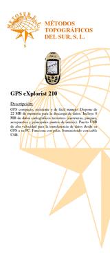 Pack GPS Explorist 210