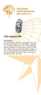 Pack GPS Explorist 500
