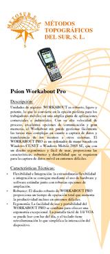 Unidad de registro WORKABOUT PRO Windows NET, color, 128 MB, 32 MB, bluetooth