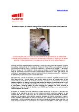 Artículo sobre la certivicación de edificios oficiales por Audiotec