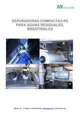 Depuradoras físico-químicas compactas PC para tratamiento de aguas industriales