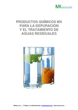 Productos químicos MX para tratamiento de aguas residuales