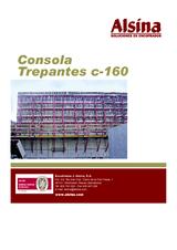 Consola trepante c-160