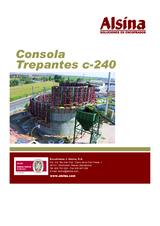 Consola trepante c-240