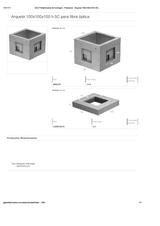 Portada de Arqueta 100x100x100 H 5c Para Fibra Optica