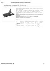 Portada de Tipo Triangular Articulado Tafo14070 3c