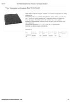 Portada de Tipo Triangular Articulado Tafo7070 2c