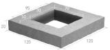 Imagen de Arqueta 100x100x100 h 5C para fibra óptica