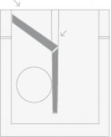 Imagen de Esquema de colocación de sifón