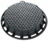 Imagen de Tapa de pozo tipo bloqueo - marco circular