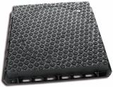 Imagen de Tapa de pozo tipo bloqueo - marco cuadrado aparente