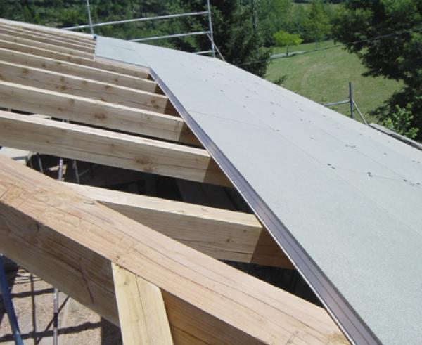 Panel s ndwich construm tica - Construccion de tejados de madera ...
