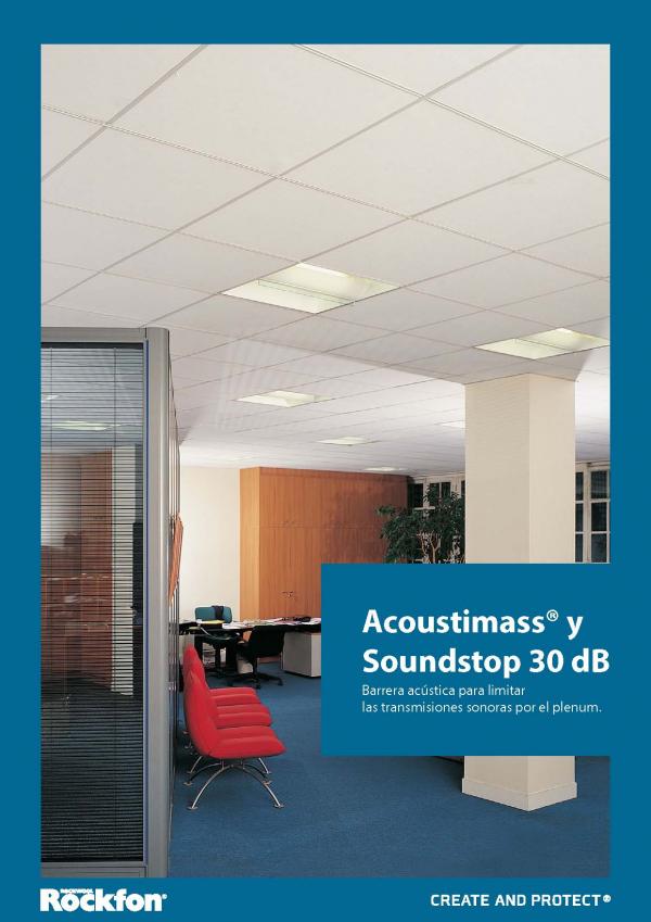 Imagen de Barrera Acústica ACOUSTIMASS y SOUNDSTOP 30 dB