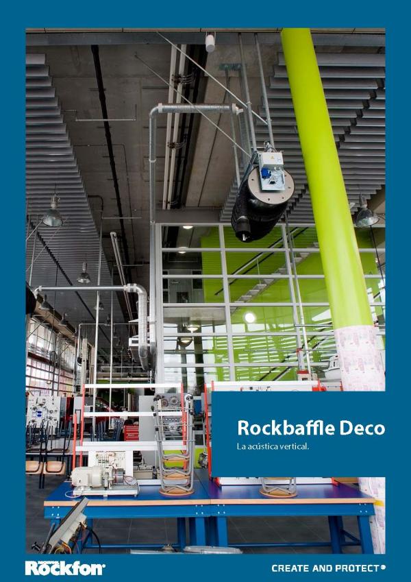 Imagen de Baffles Acústica Vertical ROCKBAFFLE DECO