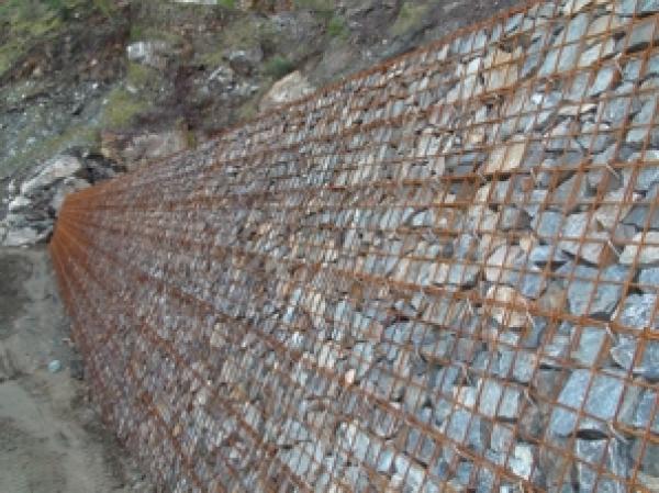 Muro de gavion construm tica - Muros de contencion de piedra ...
