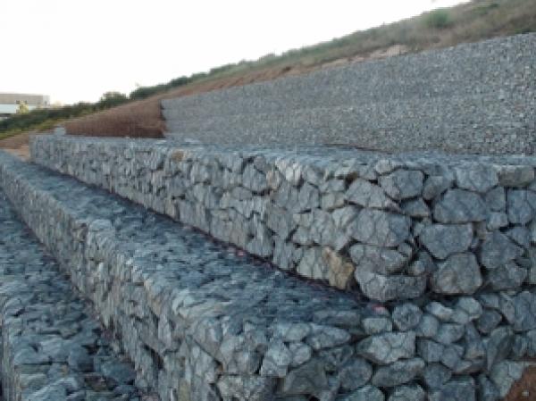 Muro de Gavion Construmtica