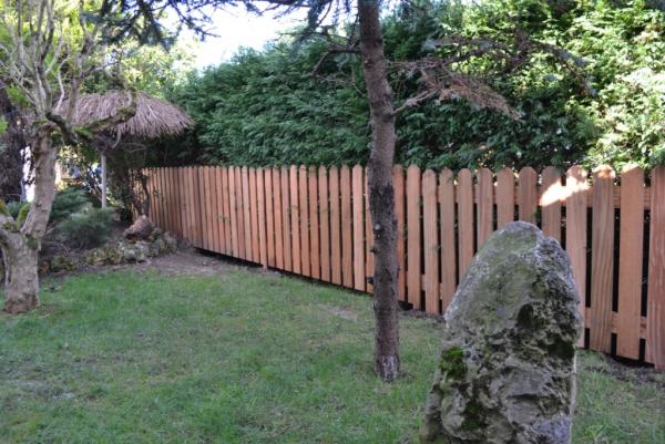 Vallas de madera construm tica for Cierres de jardin