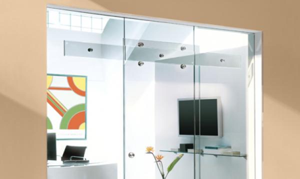 Puerta de vidrio corrediza herrajes de kit closet puertas for Correderas de vidrio
