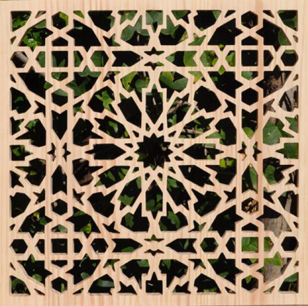 Celosia de madera construm tica for Celosias en madera