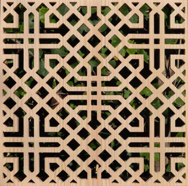 Celosia arabe celosia mcasino marbella treillis stencil - Celosia de madera ...