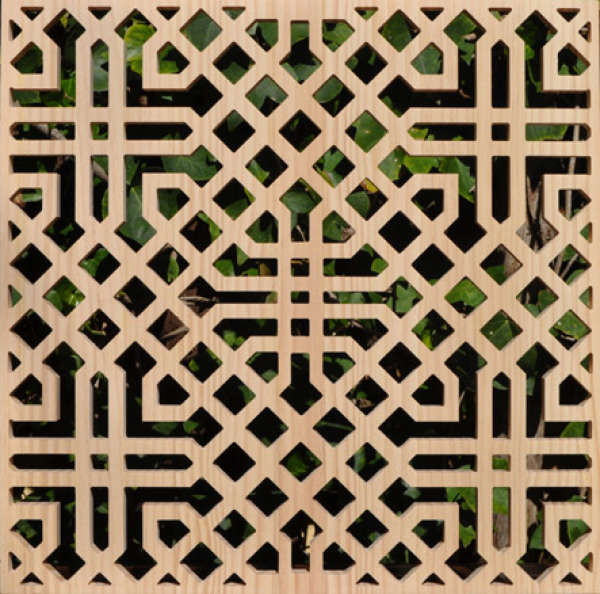 Celosia arabe celosia mcasino marbella treillis stencil for Celosias en madera