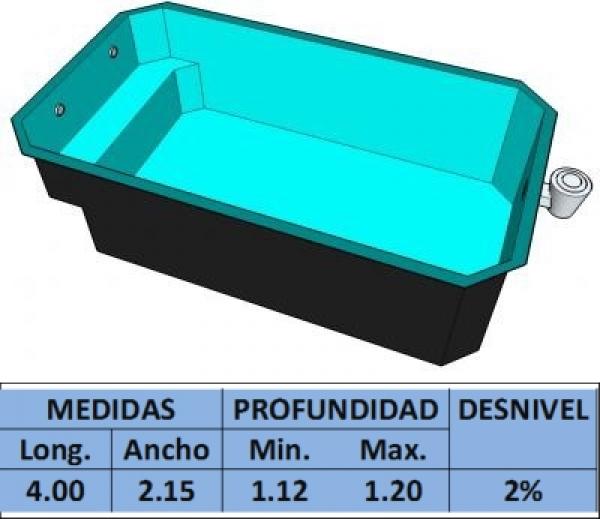 Piscina de poliester precios affordable modelo premier with piscina de poliester precios cheap - Precio piscina poliester ...