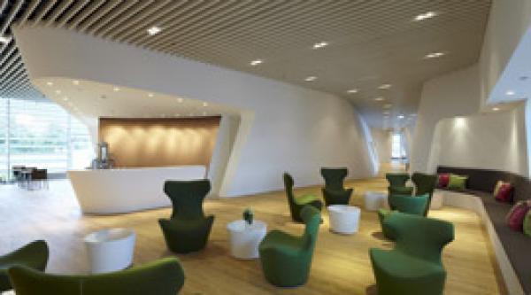 techos de lindner con luminarias integradas construm tica. Black Bedroom Furniture Sets. Home Design Ideas