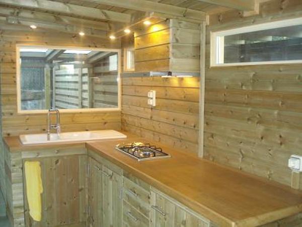 Pergola cubierta de madera y tegola construm tica - Cubiertas para pergolas de madera ...