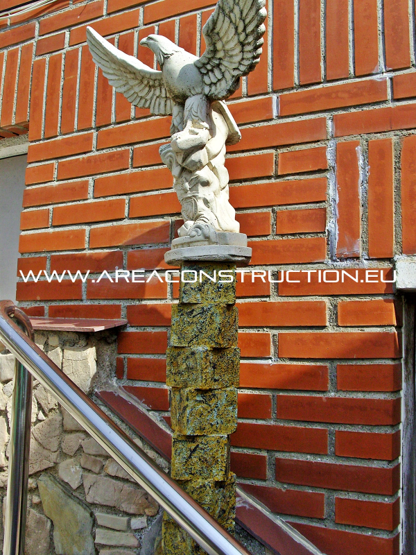 Construcci n casa r stica de piedra barcelona construm tica - Construccion casas de piedra ...
