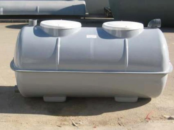 Fosa s ptica con filtro biol gico 1500lts construm tica - Productos para fosas septicas ...