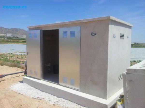 Caseta hormig n pefabricado construm tica for Casetas para almacenaje exterior