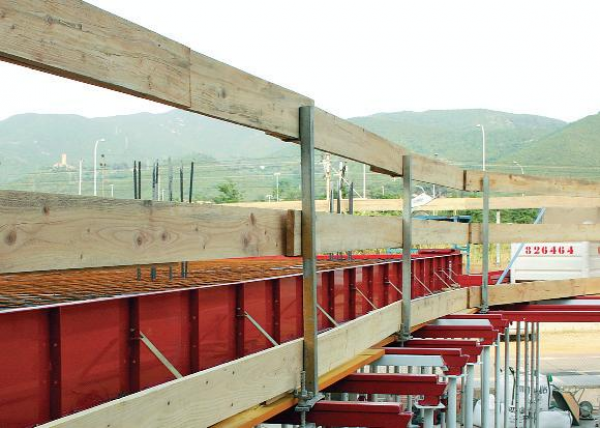 Imagen de Baranda de seguridad de madera