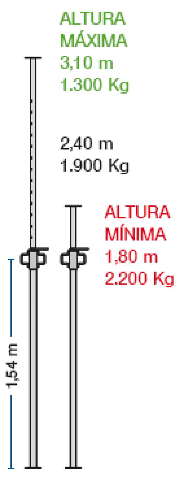 Imagen de Puntal Alisan 3 metros
