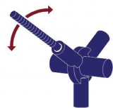 Imagen de Esquina Tri-articulada