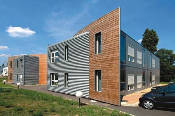 Contenedores mar timos construm tica - Como hacer una casa con un contenedor maritimo ...