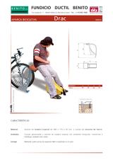 Portada de Aparca Bicicletas Drac Ficha Tecnica