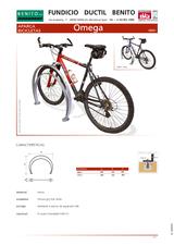 Portada de Aparca Bicicletas Omega Ficha Tecnica