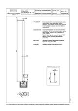 Portada de Columna Cilindrica 7m 8m Ficha Proyecto