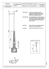 Portada de Columna Drac 4m Ficha Proyecto