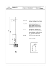 Portada de Columna Natum Con Proyectores Ficha Proyecto
