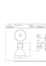 Portada de Proyector Ficha Proyecto